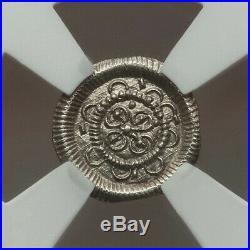 1131-41 AD Hungary Denar Bela II NGC MS 65 A BEAUTIFUL LITTLE GEM OF A COIN