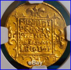 1631, Netherlands, Zeeland. Beautiful Dutch Gold Knight Ducat Coin. NGC AU53