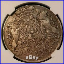 1761 Germany Taler Bavaria Dav 1949 Ngc Xf 40 High Grade Beautiful Coin