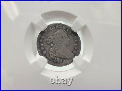 1803 NGC XF 40 Draped Bust Half Dime FRESHLY SLABBED, BEAUTIFUL COIN