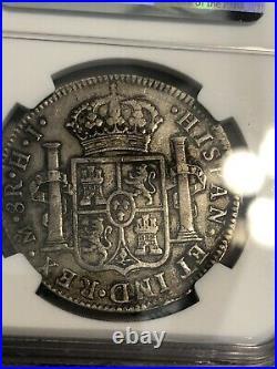 1810 Mo HJ MEXICO SILVER 8 REALES FERDINAND VII NGC VF 30 SCARCE BEAUTIFUL COIN