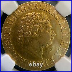 1820 Gold Sovereign coin. A beautiful George III Garter Sovereign, NGC XF40