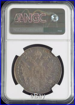 1841, Austria, Emperor Ferdinand I. Beautiful Silver Thaler Coin. NGC MS-62