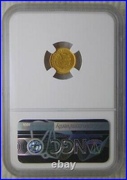 1851 Liberty Head Gold Dollar $1, NGC MS 63 Beautiful Coin