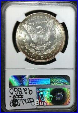 1878 7tf Rev Of 78 Morgan Silver Dollar Ngc Ms 64 Beautiful Coin Ref#003