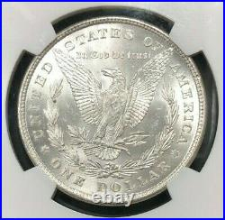 1878 8tf Morgan Silver Dollar Ngc Ms 63 Beautiful Coin Ref#67-025