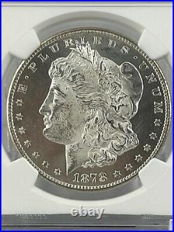 1878-S Morgan Silver Dollar NGC MS63 BRIGHT WHITE! BEAUTIFUL COIN