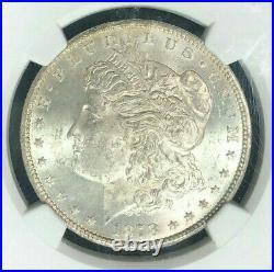 1878-cc Morgan Silver Dollar Ngc Ms 62 Beautiful Coinref#01-001