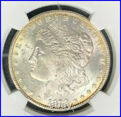 1878-cc Morgan Silver Dollar Ngc Ms 62 Beautiful Coinref#18-030