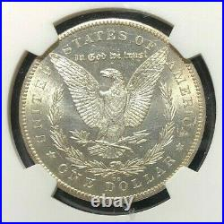 1878-cc Morgan Silver Dollarngc Ms 62beautiful Coin Ref#96-002