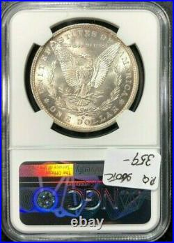 1879-o Morgan Silver Dollar Ngc Ms 63 Beautiful P. Q. Coin
