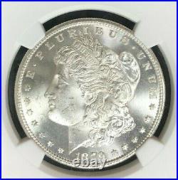 1879-s Morgan Dollar Silver Dollar Ngc Ms 66 Wow Beautiful Coin Ref#58-001