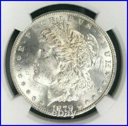 1879-s Morgan Silver Dollar Ngc Ms 64 Beautiful Coin Ref#42-001