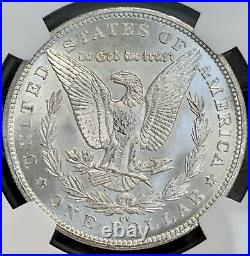 1880 CC Morgan Silver Dollar Ngc Ms 64 Carson City Mint Beautiful White Coin