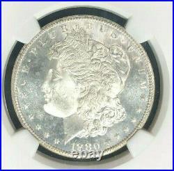 1880-s Morgan Silver Dollar Ngc Ms 66 Beautiful Coin Ref#27-002