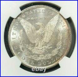 1880-s Morgan Silver Dollar Ngc Ms 66 Beautiful Coin Ref#38-030