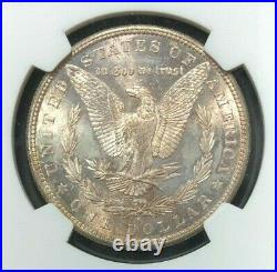 1880-s Morgan Silver Dollar Ngc Ms 66 Beautiful Coinref#23-011
