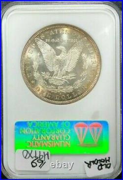 1880-s Morgan Silver Dollar Old Ngc Ms 65 Beautiful Coin Ref#62-005