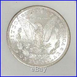 1881 S Morgan Silver Dollar NGC MS 65 Beautiful High Grade US Coin #CC489