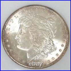 1881 S Morgan Silver Dollar NGC MS 65 Beautiful High Grade US Coin #CC490