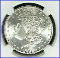 1881-s Morgan Silver Dollar Ngc Ms 66beautiful Coin Ref#62-003