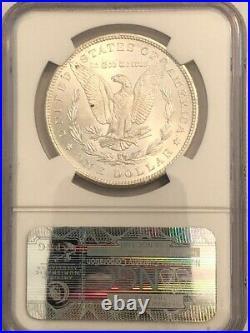 1882-CC Carson City Morgan silver dollar. NGC MS64 beauty. #edd001