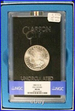 1882-CC Morgan Silver Dollar GSA Hoard NGC MS 66 BU UNC Beautiful US Coin #4003