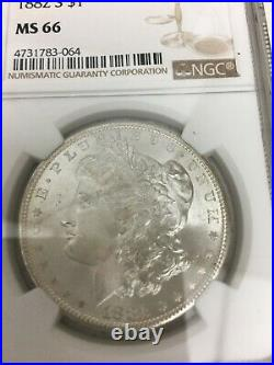 1882 S Morgan Silver Dollar Ms 66 A San Francisco Lustrous Beauty