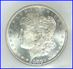 1882-cc Morgan Silver Dollar Ngc Ms 63pl Beautiful Coin Ref#53-006