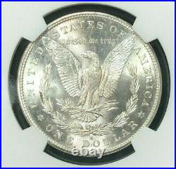 1882-s Morgan Silver Dollar Ngc Ms 65+ Beautiful Coin Ref#30-004