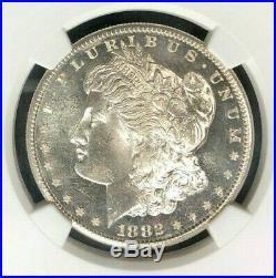 1882-s Morgan Silver Dollar Ngc Ms 67 Wow Beautiful Coin Star Grade