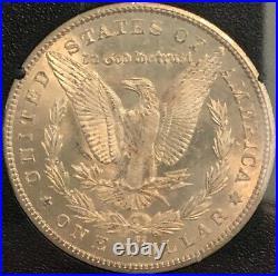 1883-CC GSA Carson City Morgan silver dollar. NGC MS64 beauty, with box