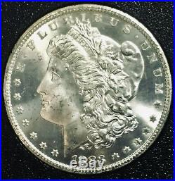 1883 CC Morgan Silver Dollar NGC MS 65 GSA Beautiful White Coin COA
