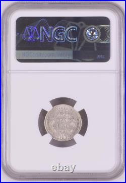 1883 Hawaii Dime NGC AU50 Beautiful Coin