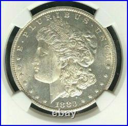 1883-o Morgan Silver Dollar Ngc Ms 63pl Beautiful Coin Ref#31-003