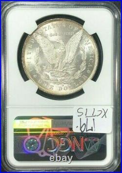 1883-o Morgan Silver Dollar Ngc Ms 65+ Beautiful Coin Ref#30-002