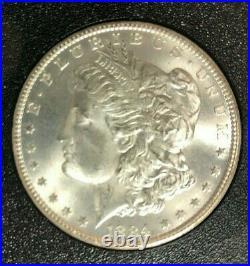 1884-CC MORGAN SILVER DOLLAR GSA NGC MS 66 BEAUTIFUL COIN! Box & Certificate