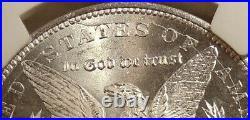 1884-CC Morgan Silver Dollar NGC MS64 Scarce VAM-7A Beautiful Ch BU Coin
