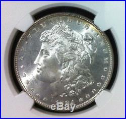 1884 Morgan Silver Dollar Ngc Ms 65 Beautiful Coin