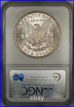 1884-O Morgan Silver Dollar $1 Coin NGC MS-63 Beautifully Toned Obverse (11f)