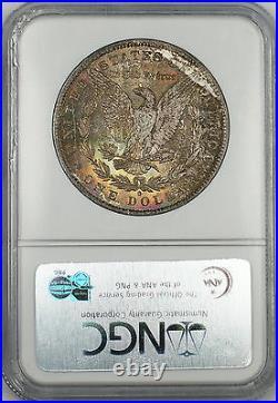 1884-O Morgan Silver Dollar $1 Coin NGC MS-65 Beautifully Toned Gem (Ta)