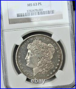 1884-O Morgan Silver Dollar NGC MS63PL Beautiful Coin Proof Like. FREE SHIPPING