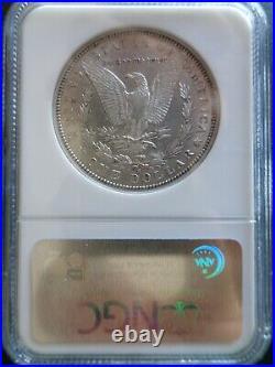 1884-S Morgan Silver Dollar NGC AU 55, Very Beautiful Coin