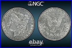 1884-S Morgan Silver Dollar NGC XF-45 Beautiful Numismatic Key Date US Coin 4001