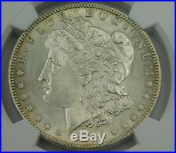 1884-S NGC MS60 Morgan Silver Dollar Super Rare Uncirculated Coin a Beauty