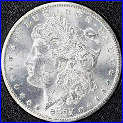 1884-cc Morgan Silver Dollar Ngc Ms 63 & Gsa Slab Beautiful Coin