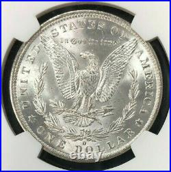 1884-o Morgan Silver Dollar Ngc Ms 65 Beautiful Coin Ref#16-055