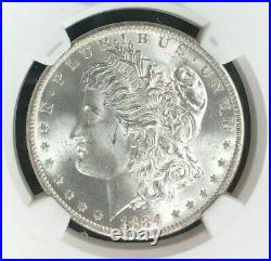 1884-o Morgan Silver Dollar Ngc Ms 65 Beautiful Coin Ref#16-057