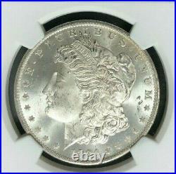 1884-o Morgan Silver Dollar Ngc Ms 66 Beautiful Coin Ref#62-005
