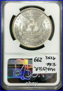 1884-o Morgan Silver Dollar Ngc Ms 66 Wow Beautiful Coin Ref#27-001